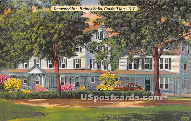 Kenwood Inn, Haines Falls - New York NY Postcard
