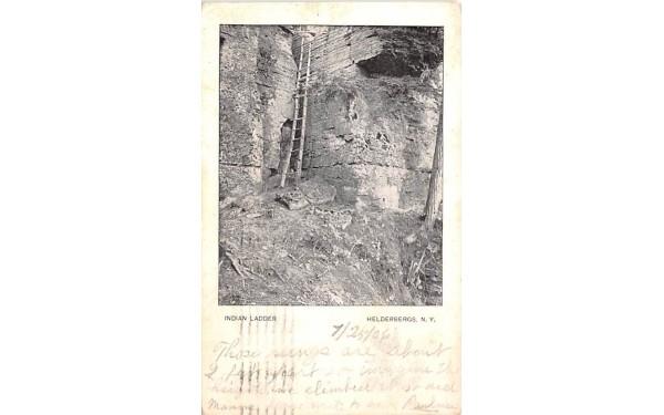 Indian Ladder Helderberg Mountains, New York Postcard