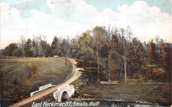 Smalls Gulf Herkimer, New York Postcard
