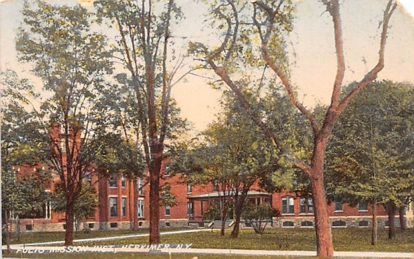 Folts Mission Inlet Herkimer, New York Postcard