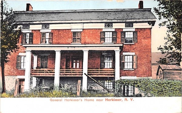 General Herkimer's Home New York Postcard