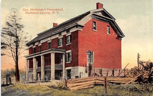 Gen Herkimer's Homestead New York Postcard