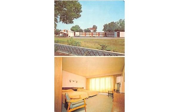 Herkimer Motel New York Postcard