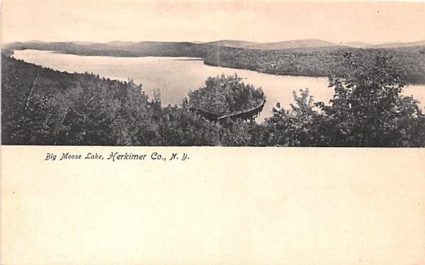 Big Moose Lake Herkimer, New York Postcard