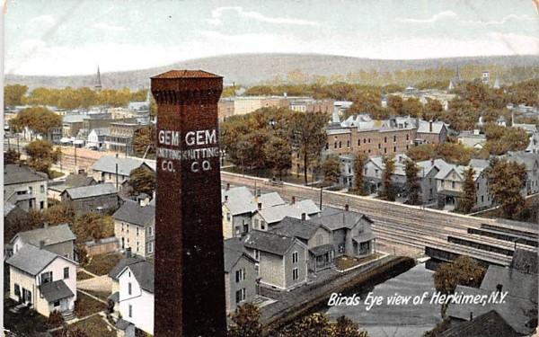 GEM Knitting Co Herkimer, New York Postcard