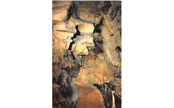 The Witch Howe Caverns, New York Postcard