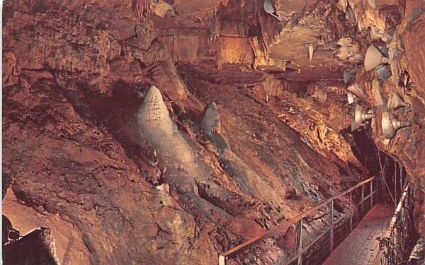 The Sentinels Howe Caverns, New York Postcard