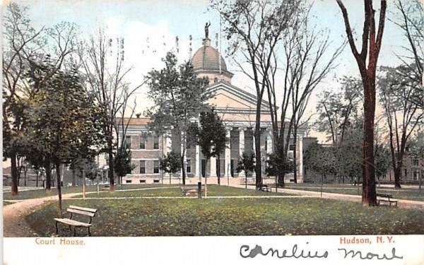 Court House Hudson, New York Postcard
