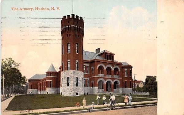 The Armory Hudson, New York Postcard