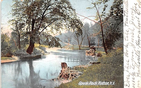 Spook Rock Hudson, New York Postcard
