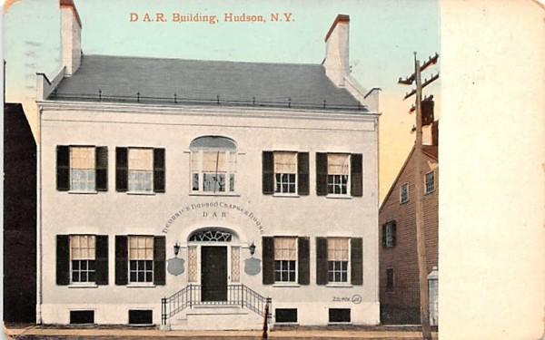 DAR Building Hudson, New York Postcard
