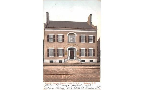 Hendrick Hudson Chapter House, DAR New York Postcard