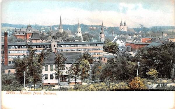 From Bellevue Hudson, New York Postcard