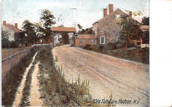 Old Toll Gate Hudson, New York Postcard