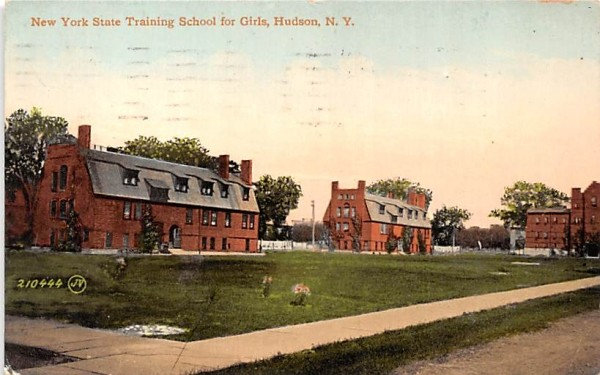 New York State Training School for Girls Postcard