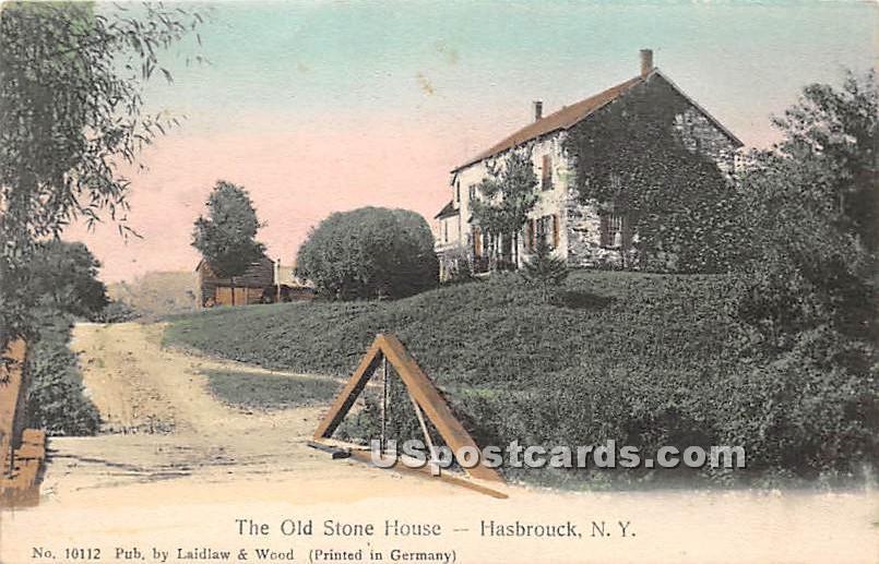 Old Stone House - Hasbrouck, New York NY Postcard