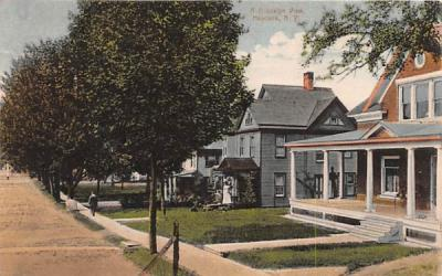 Brooklyn View Hancock, New York Postcard