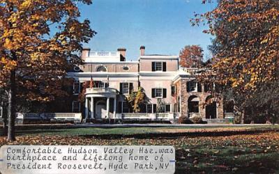 Hudson Valley House Hyde Park, New York Postcard