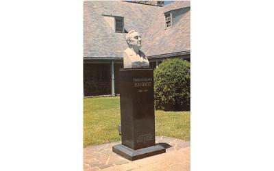 Franklin D Roosevelt National Historic Site Hyde Park, New York Postcard