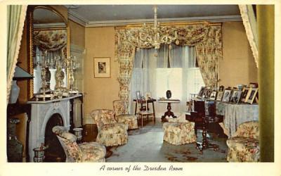 Corner of the Dresden Room Hyde Park, New York Postcard