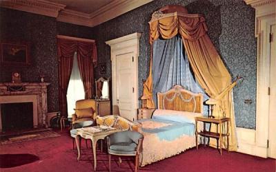 Blue Room Hyde Park, New York Postcard