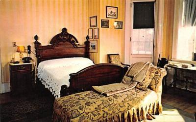 President Roosevelt's Bedroom Hyde Park, New York Postcard