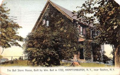 Bull Stone House Hamptonburgh, New York Postcard