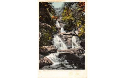 Five Cascades Haines Falls Caskill Mts New York Postcard