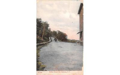 Buffalo Street Hill Hamburg, New York Postcard