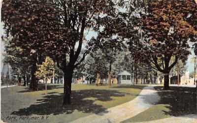Park Herkimer, New York Postcard