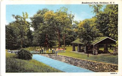 Brookwood Park Herkimer, New York Postcard