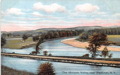 Mohawk Valley Herkimer, New York Postcard