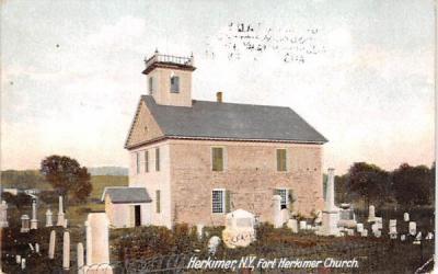 Fort Herkimer Church New York Postcard
