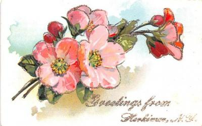 Greetings from Herkimer, New York Postcard