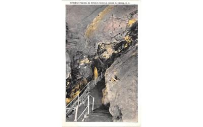 Chinese Pagoda Howe Caverns, New York Postcard