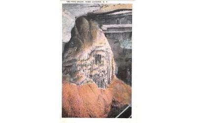 Pipe Organ Howe Caverns, New York Postcard
