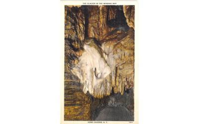 Glacier Howe Caverns, New York Postcard