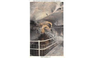 Pool of Siloam Howe Caverns, New York Postcard