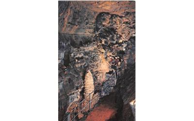 Balcony view of Titan's Temple Howe Caverns, New York Postcard