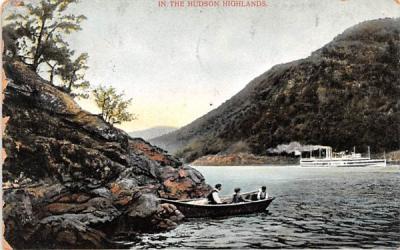 In the Hudson Highlands Hudson River, New York Postcard