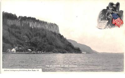 The Palisades Hudson River, New York Postcard