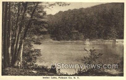 Putnam Co  - Indian Lake, New York NY Postcard