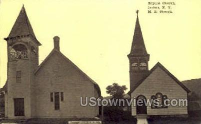 Baptist Church - Ilion, New York NY Postcard