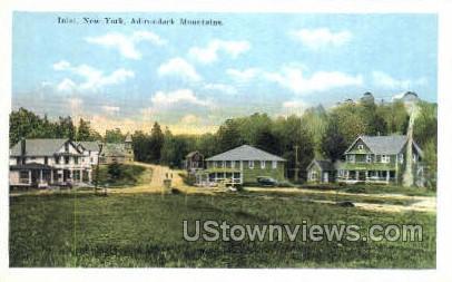 Adirondack Mtns. - Inlet, New York NY Postcard