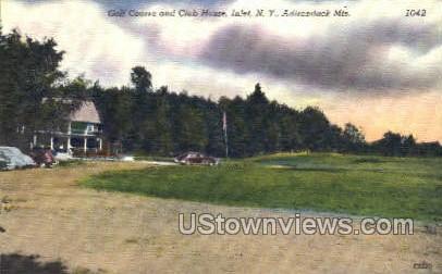 Club House - Inlet, New York NY Postcard