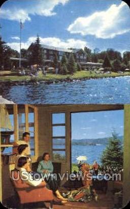 Main House - Inlet, New York NY Postcard