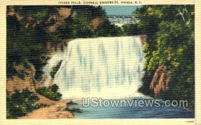 Ithica Falls - Ithaca, New York NY Postcard