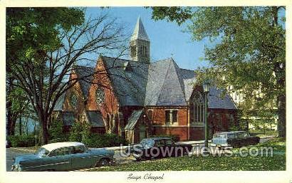 Sage Chapel - Ithaca, New York NY Postcard