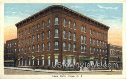 Ithaca Hotel - New York NY Postcard