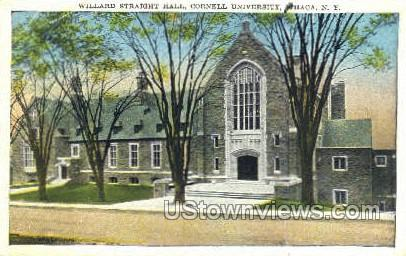 Willard Straight Hall - Ithaca, New York NY Postcard